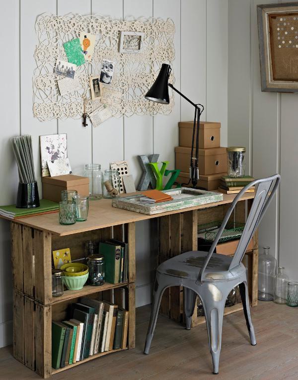 Crate-Desk
