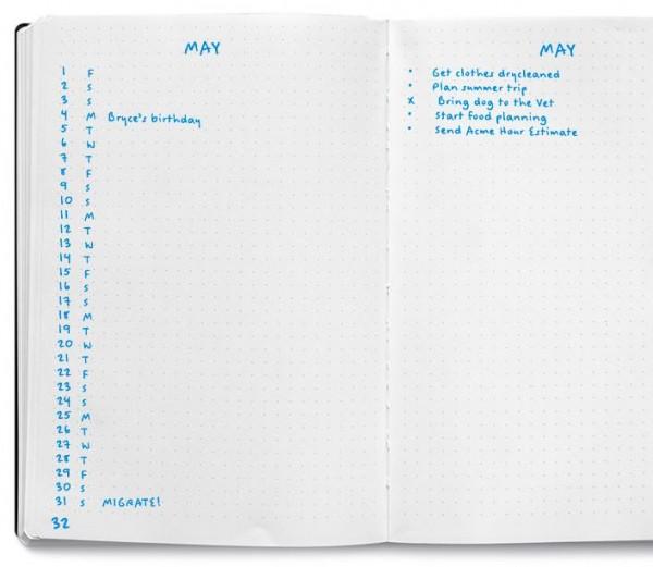 Aylık Plan -Monthly Log